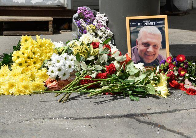 Journaliste russe Pavel Cheremet, a été tué aujourd'hui dans le centre-ville de Kiev, en Ukraine