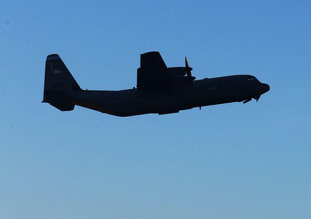 L'avion de transport militaire C-130