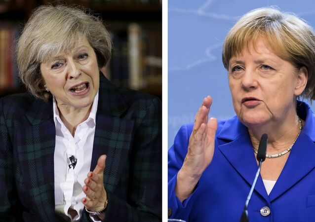 Theresa May VS Angela Merkel