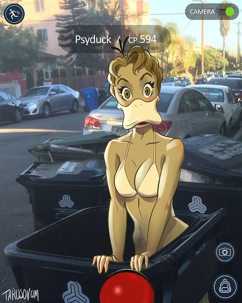 Pokemon Goes Pin-Up