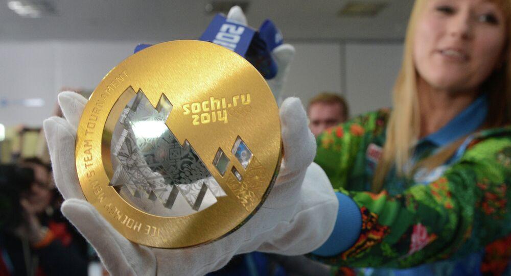 les médailles olympiques