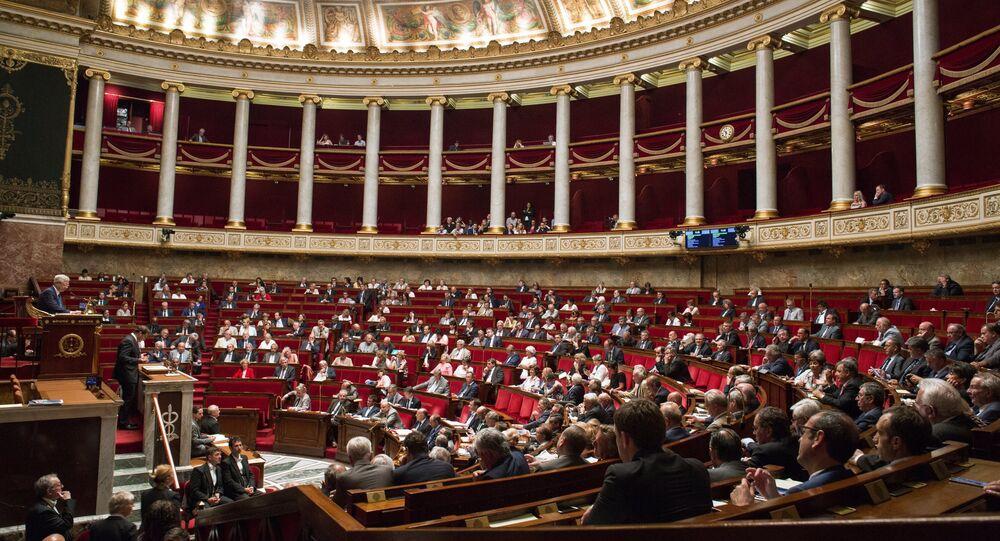 Parlement français. Archive photo