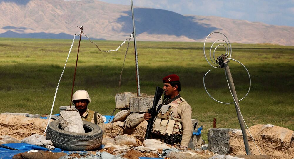 Troupes irakiennes