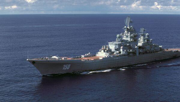 Croiseur russe lance-missiles à propulsion nucléaire de classe Kirov (projet 1144) - Sputnik France