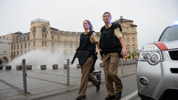 police de Munich - Sputnik France