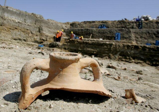 Des fouilles en Turquie. Image d'illustration