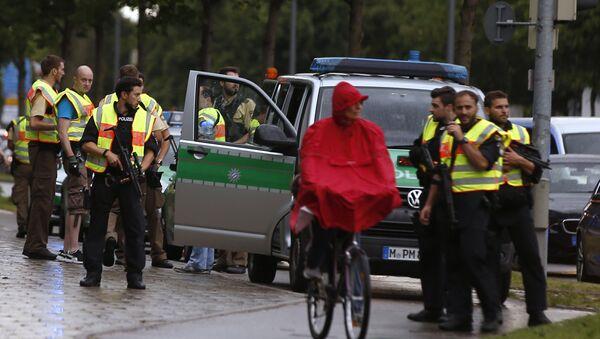 Munich après la fusillade du 22 juillet 2016 - Sputnik France
