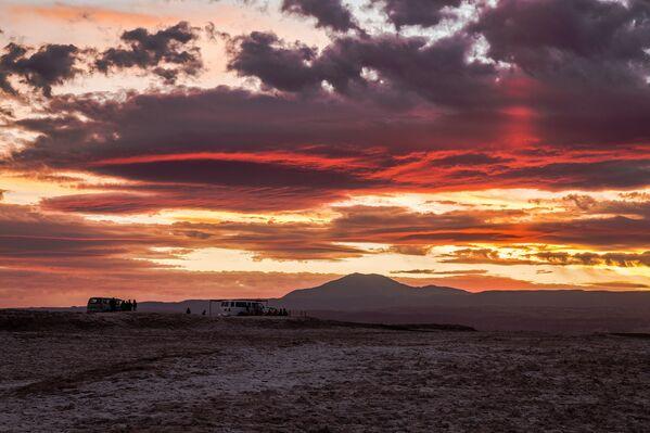Le ciel incroyable dans le désert d'Atacama, au Chili. - Sputnik France