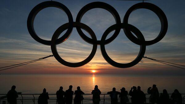 Anneaux olympiques à Sotchi, la capitale des JO 2014 - Sputnik France
