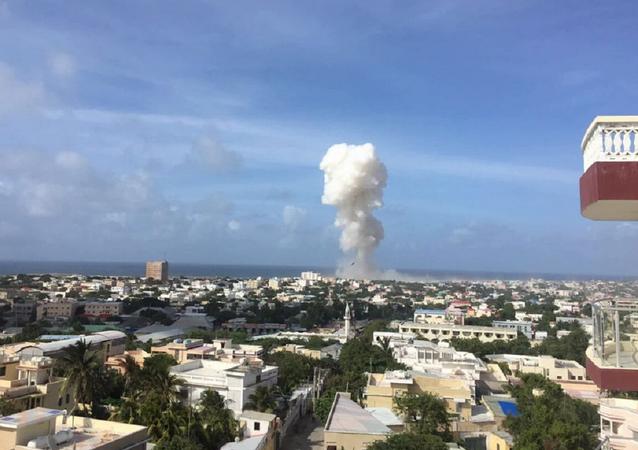 Violente explosion et tirs près d'un aéroport en Somalie