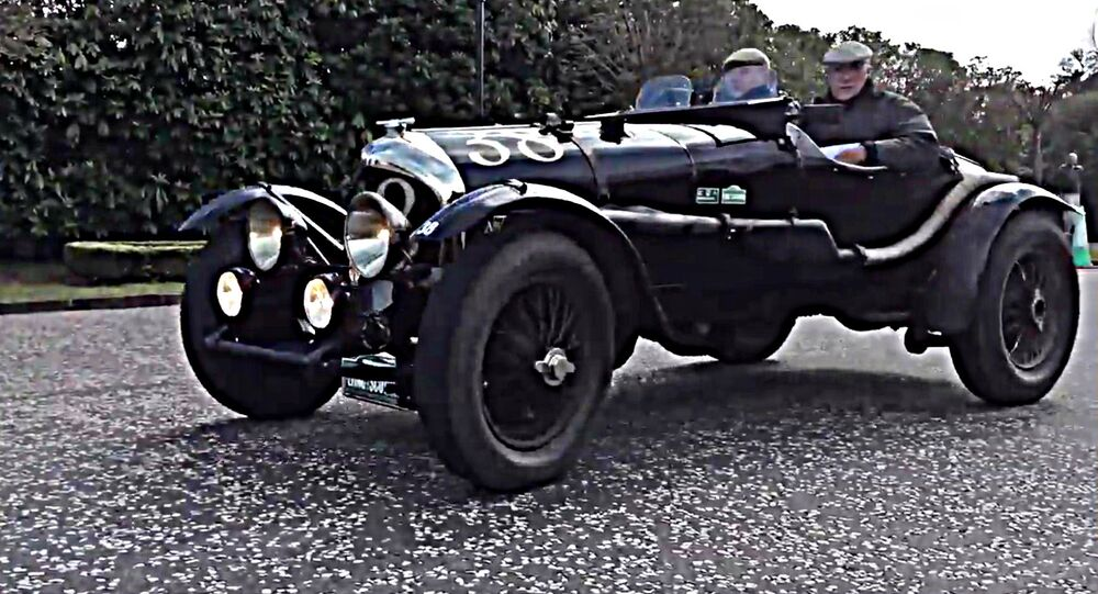 William Medcalf Vintage Bentley