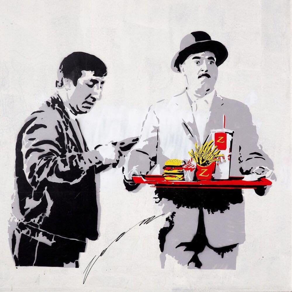 L'art de rue à Moscou
