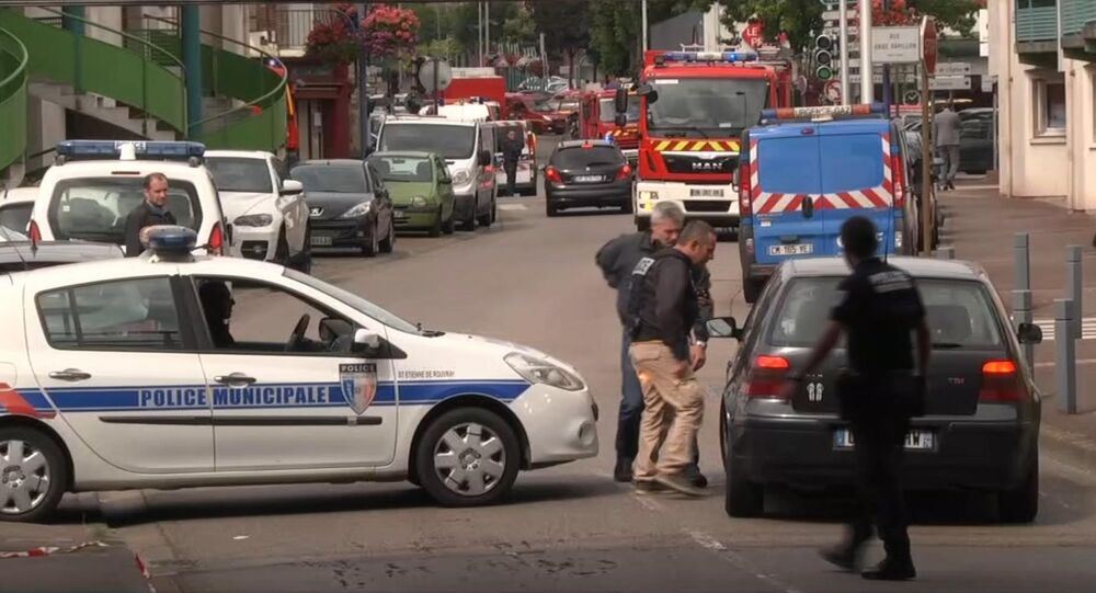 Police à Saint-Etienne de Rouvray