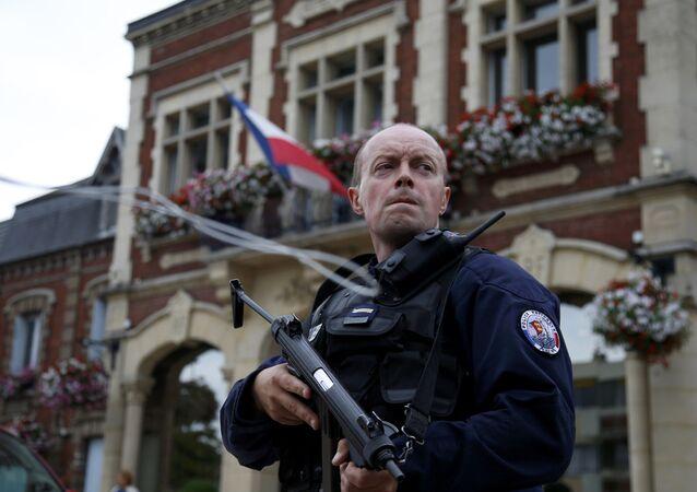 Situation à Saint-Etienne-du-Rouvray