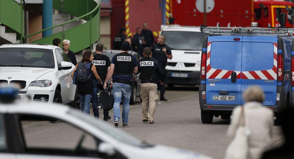 Prise d'otages dans une église de Haute-Normandie