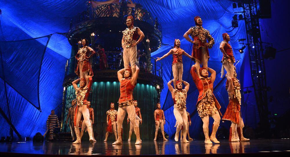 Spectacle du Cirque du Soleil