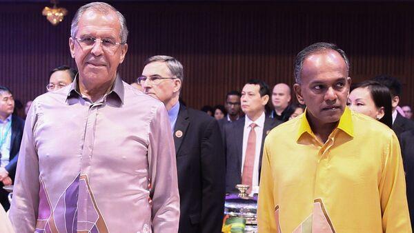 Рабочий визит министра иностранных дел РФ С.Лаврова в Малайзию - Sputnik France