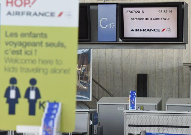 Grève chez l'Air France