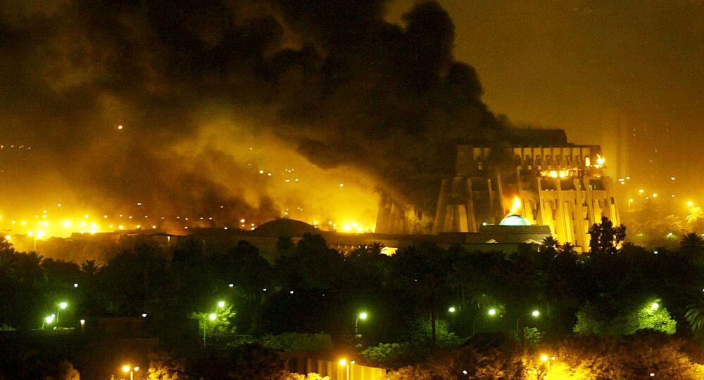 Bagdad en flammes