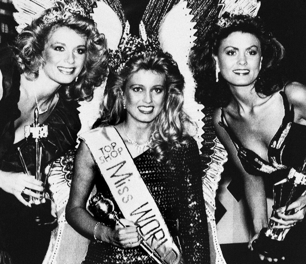 L'Islandaise Hólmfríður Karlsdóttir a été nommée Miss Monde en 1985