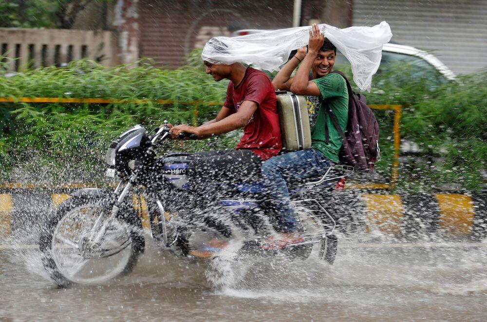 Les fortes moussons ont provoqué des inondations dans plusieurs Etats indiens.