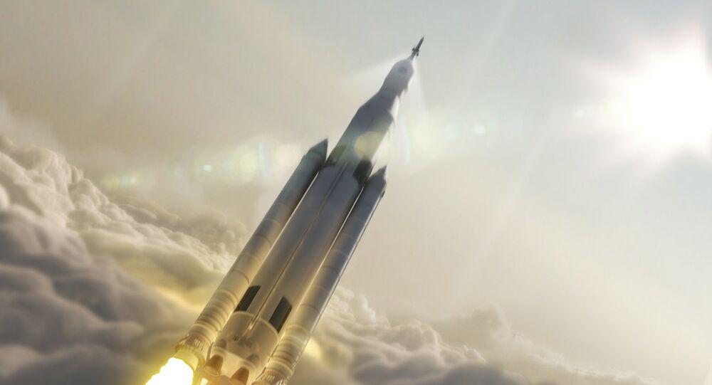 un vaisseau spatial