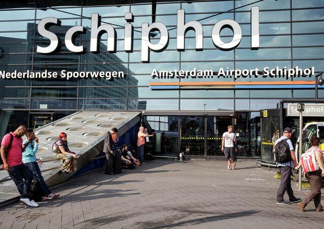 L'aéroport Schiphol d'Amsterdam