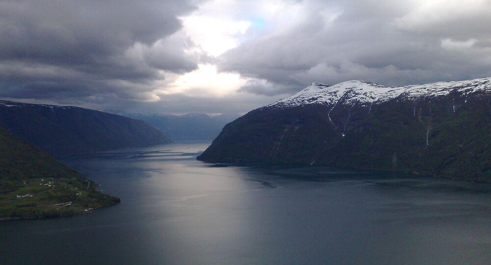 Le Sognefjord, en Norvège