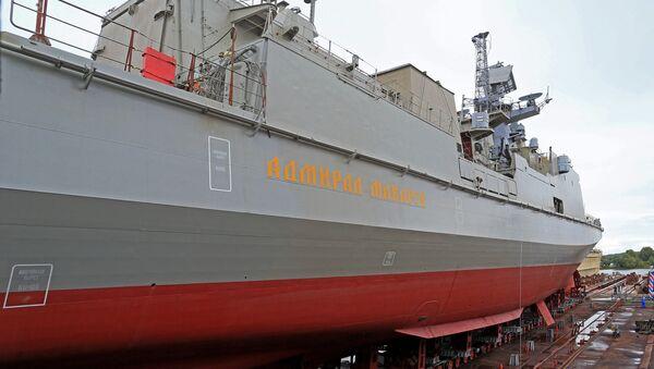 La frégate Amiral Makarov - Sputnik France