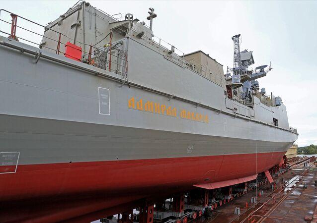 La frégate Admiral Makarov