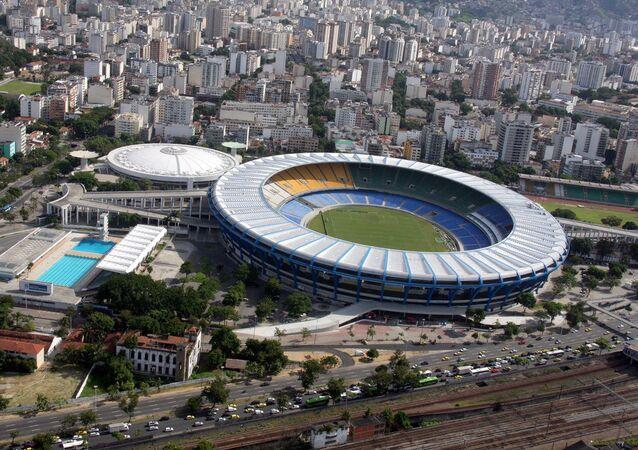 Le stade Maracanã à Rio