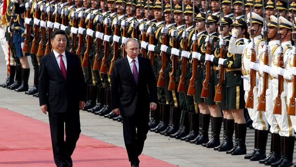 Vladimir Putin et Xi Jinping - Sputnik France