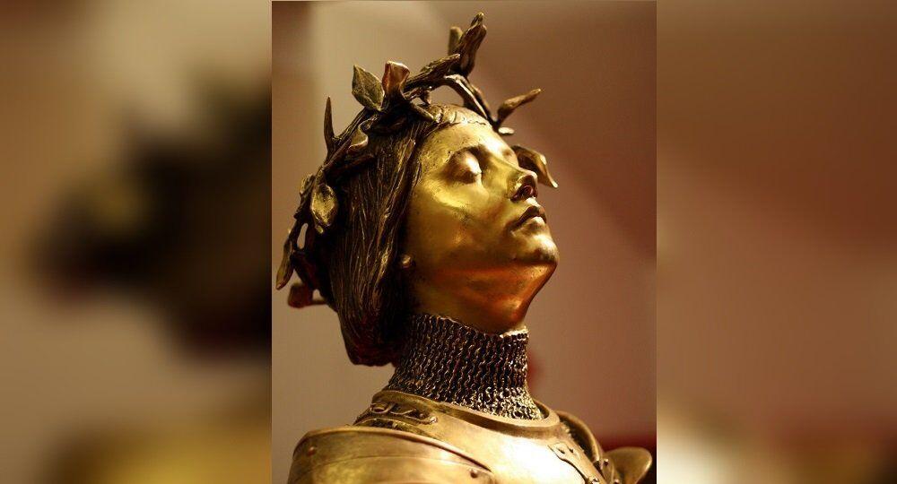 Des voix entendues par Jeanne d'Arc