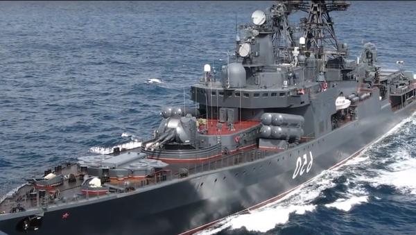 Le destroyer nucléaire Lider - Sputnik France