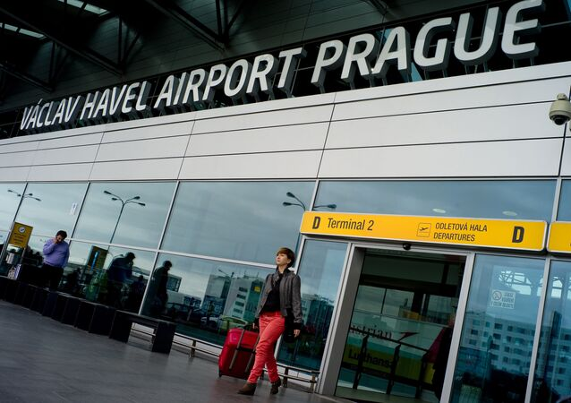 L'aéroport Vaclav Havel à Prague