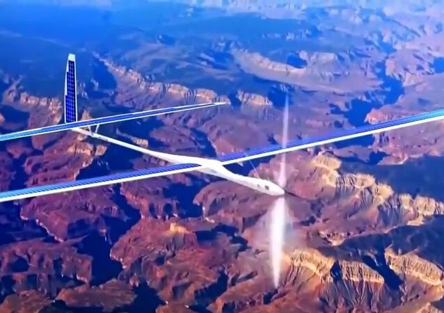 Solara, un drone à énergie solaire