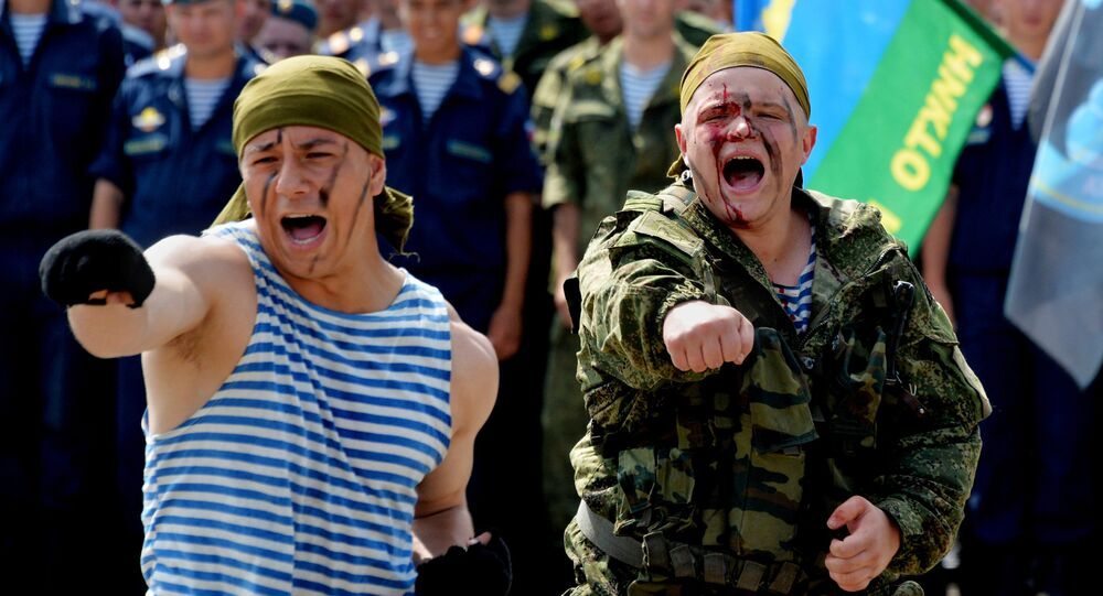 la Journée des troupes aéroportées (VDV)