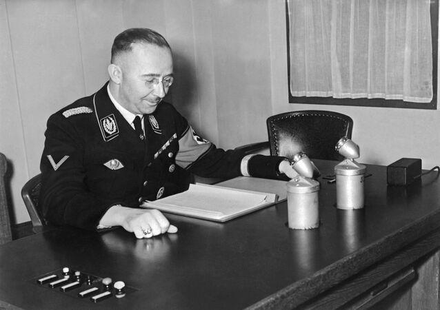 Photo d'archive datée de 1939 de Heinrich Himmler