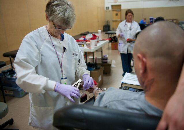 Transfusion sanguine. Image d'illustraton