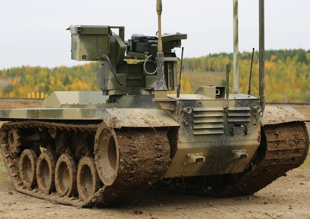 Le robot de combat russe Nerekhta