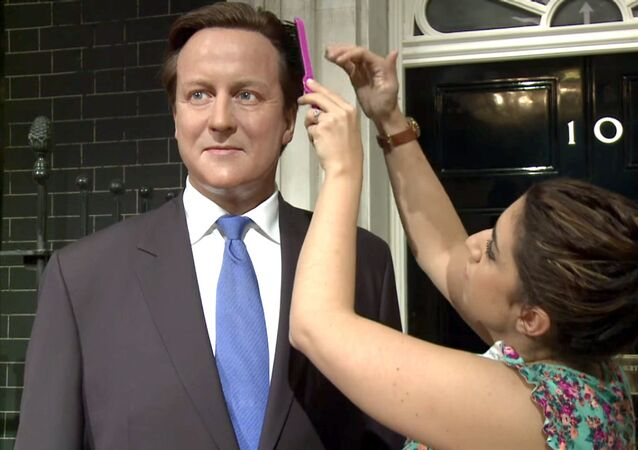 David Cameron chez Madame Tussauds