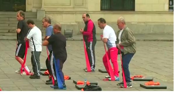 Séance de gym des ministres au Pérou - Sputnik France