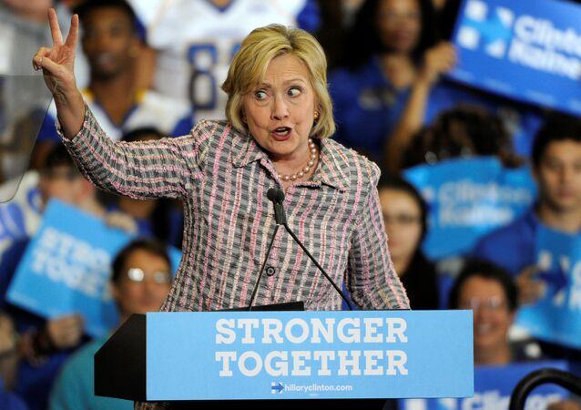 Hillary Clinton, candidate démocrate à l'élection présidentielle US