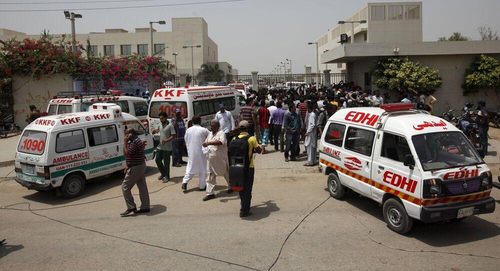 Ambulances au Pakistan