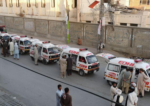 Ambulance, Balochistan province, Pakistan