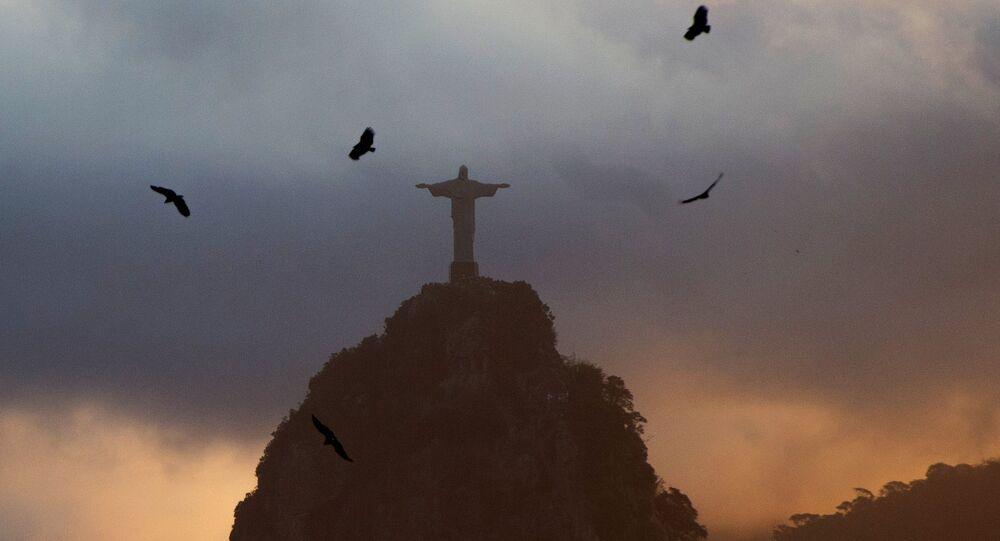 Statue du Christ Rédempteur à Rio de Janeiro
