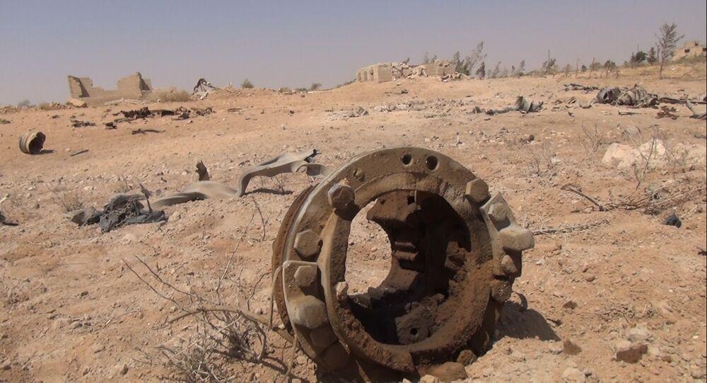 L'armée syrienne pilonne les camions-citernes de Daech