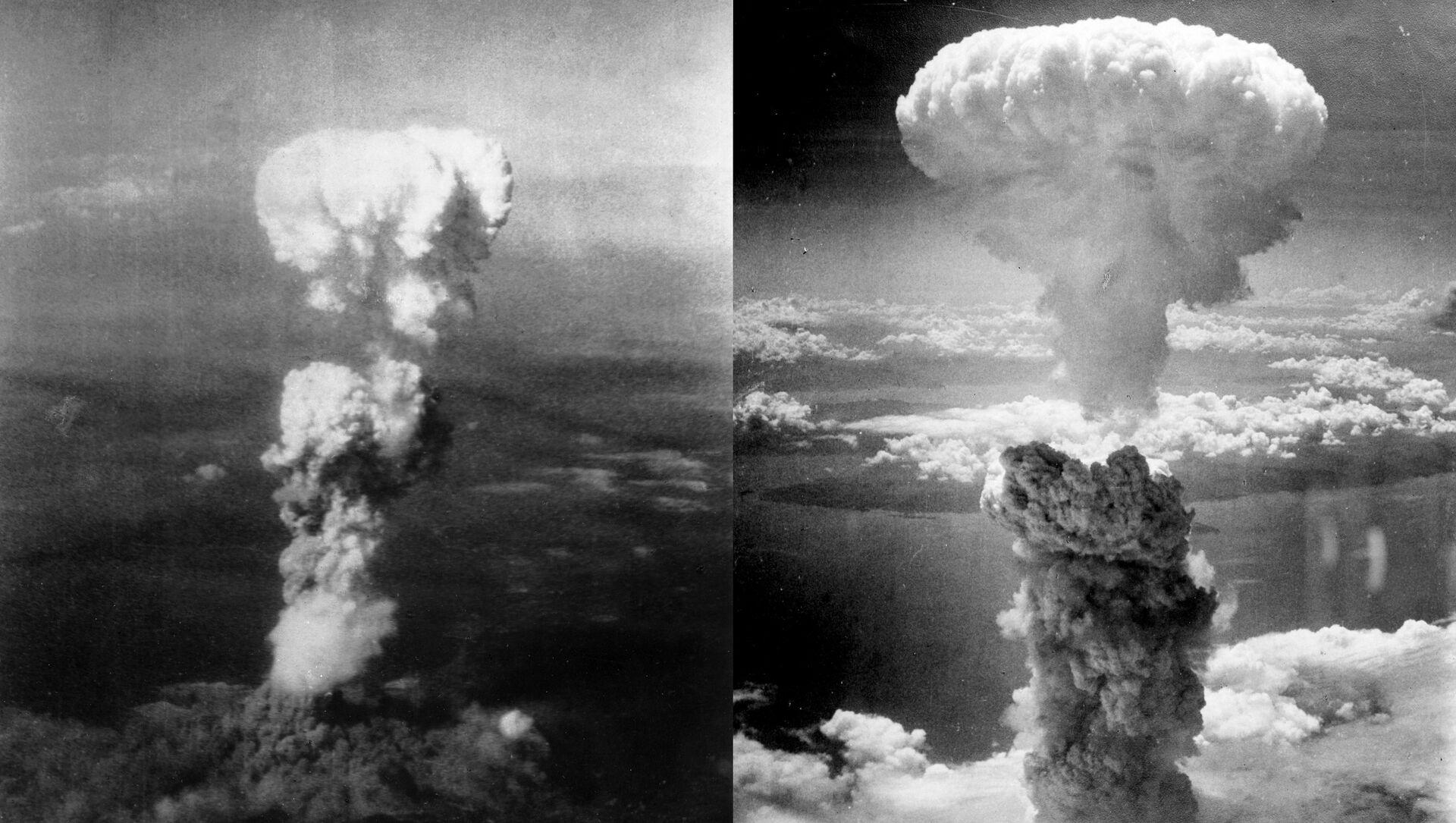 Bombardements nucléaires à Hiroshima et Nagasaki (1945) - Sputnik France, 1920, 06.08.2021