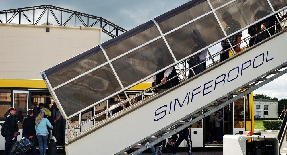 l'aéroport Simferopol