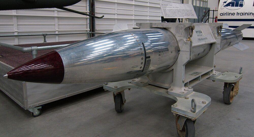 Une bombe nucléaire